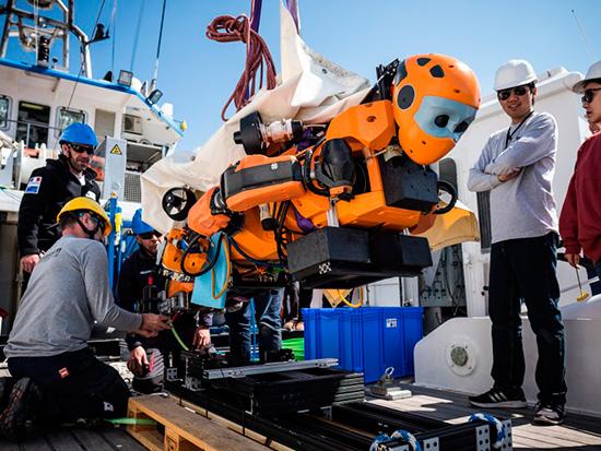 ocean one robot
