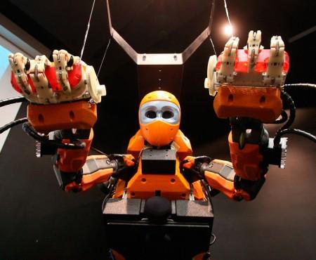 Robot humanoide experto en arqueología submarina
