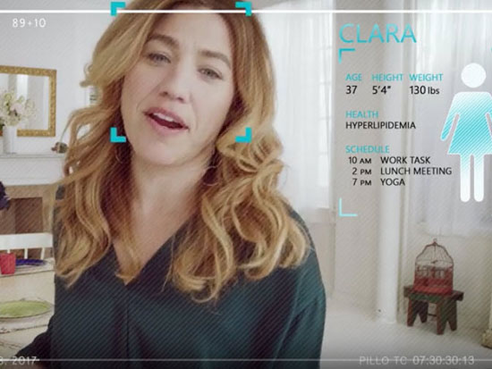 pillo reconocimiento facial del paciente