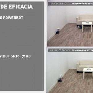 Aspiradores robot Samsung: comparativa de pruebas