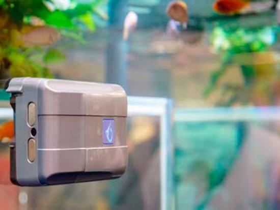 robosnail robot limpiador acuarios