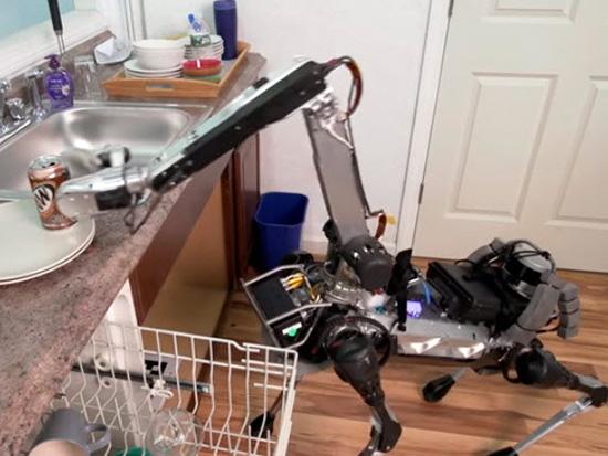 spot mini dog robot ayuda tareas casa