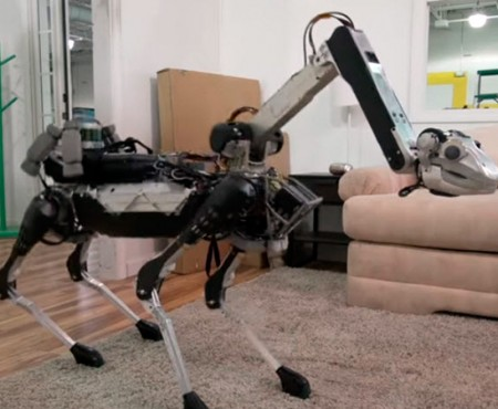 Spot Mini: el perro robótico del hogar