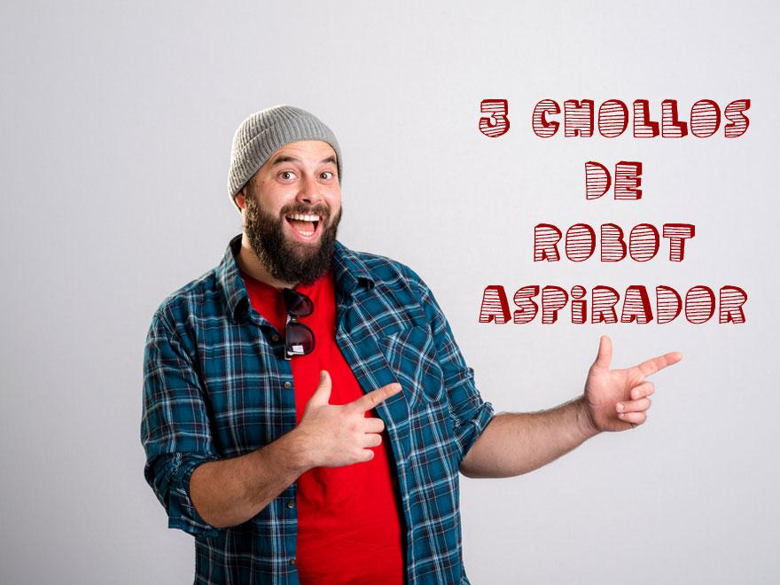 3 chollos de robot aspirador
