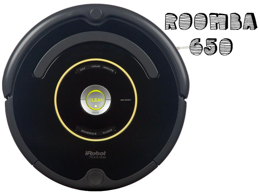 Roomba 650, el robot aspirador más vendido en Amazon