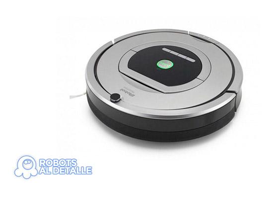 test sensores de choque robot roomba