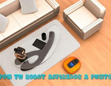 Adelántate al otoño y pon tu robot aspirador a punto