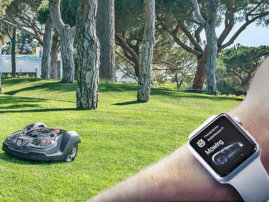 Una App para robots cortacésped Automower