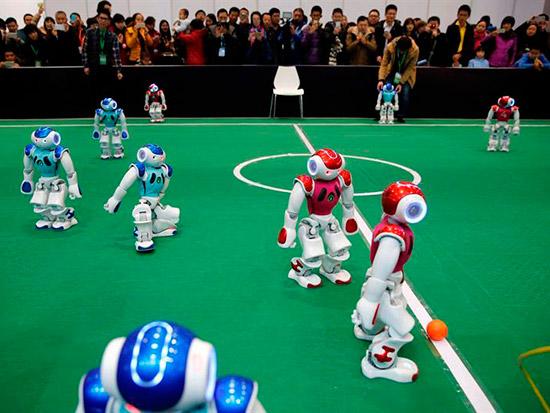 conferencia mundial de robots