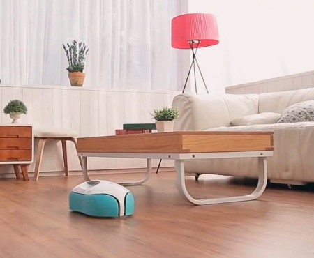 Moneual EVERYBOT RS500, un robot de mopas giratorias