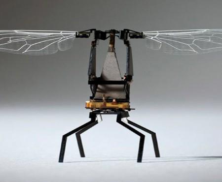 La primera abeja robótica que poliniza el campo