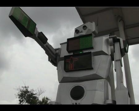Robots que regulan el tráfico