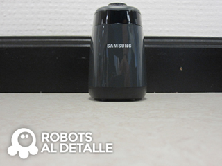 Robot aspirador Samsung Powerbot VR9000 pared virtual